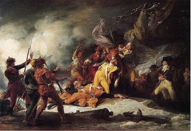 מותו של גנרל מונטגומרי בקרב על קיובק