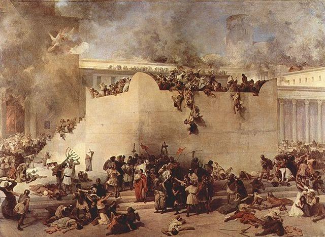 חורבן בית המקדש - פרנציסקו הייז