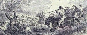 Marais des Cygnes massacre of anti-slavery Kansans. May 19, 1858.