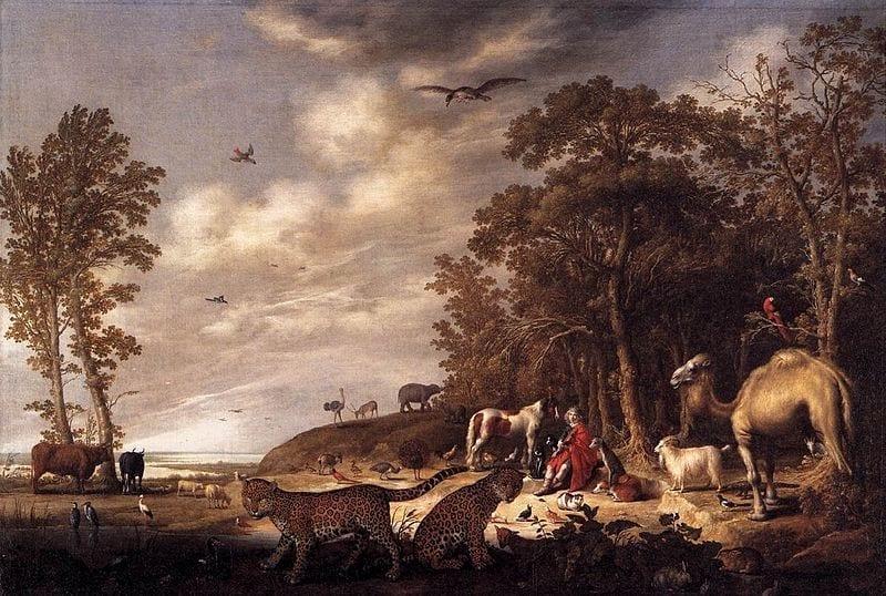 אורפיאוס והחיות - אלברט קויפ