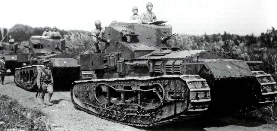 טנקי וויפט בשרות הצבא היפני