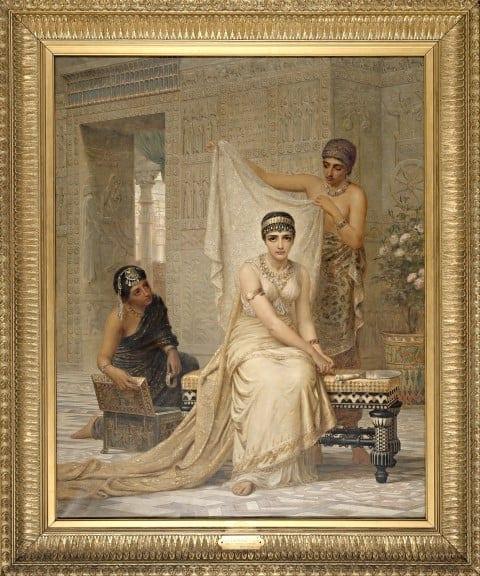 המלכה אסתר, אדווין לונג, 1878