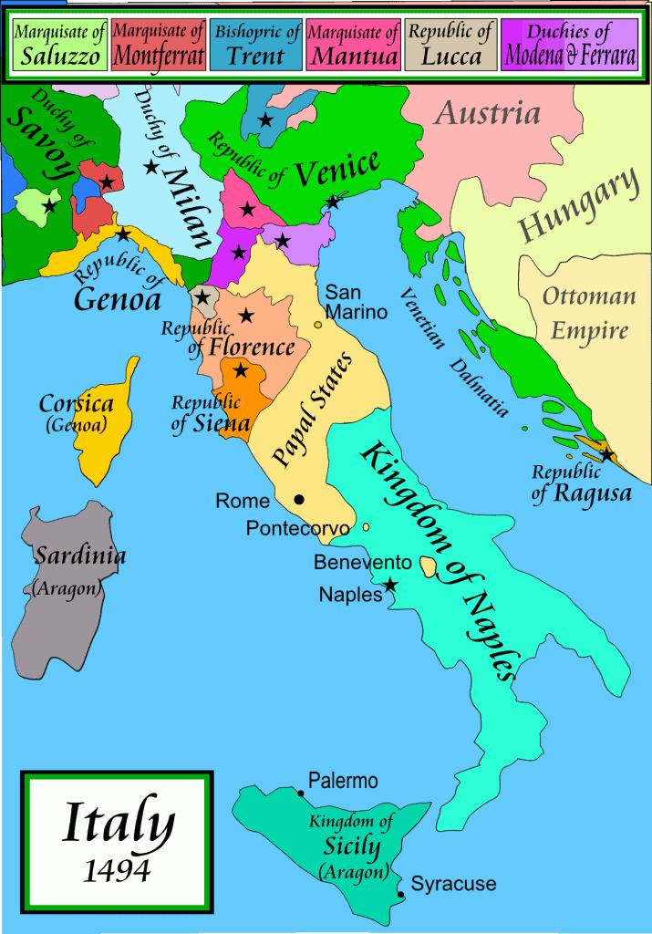 איטליה בתקופת לאונרדו. מצאתם את מילנו?