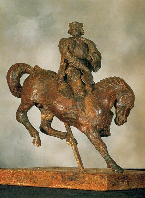 פסל הסוס הקטן