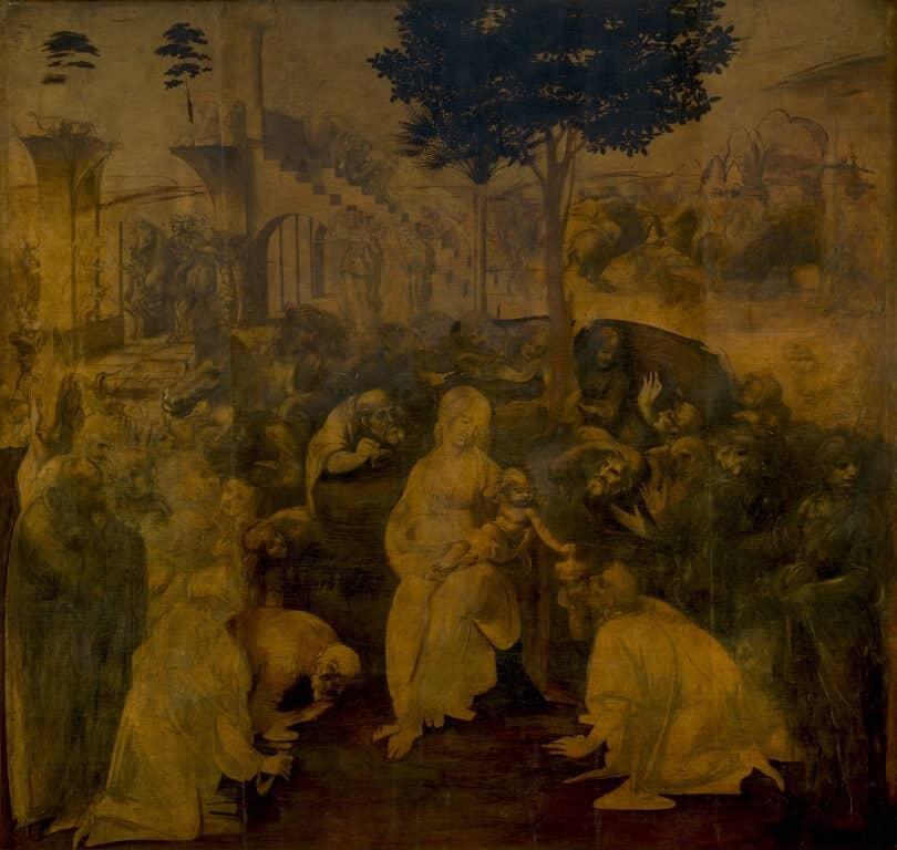 הערצת האמגושים (החכמים מהמזרח) שהגיעו לבקר את מלך היהודים - Adoration of the Magi