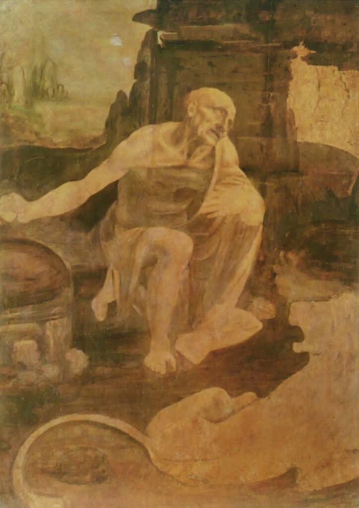 הרונימוס - ציור לא גמור של דה וינצ'י.