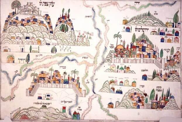 maps 16th century