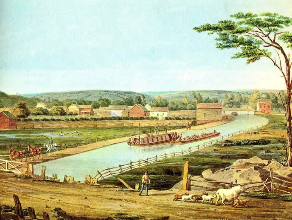 Erie-Canal-1829