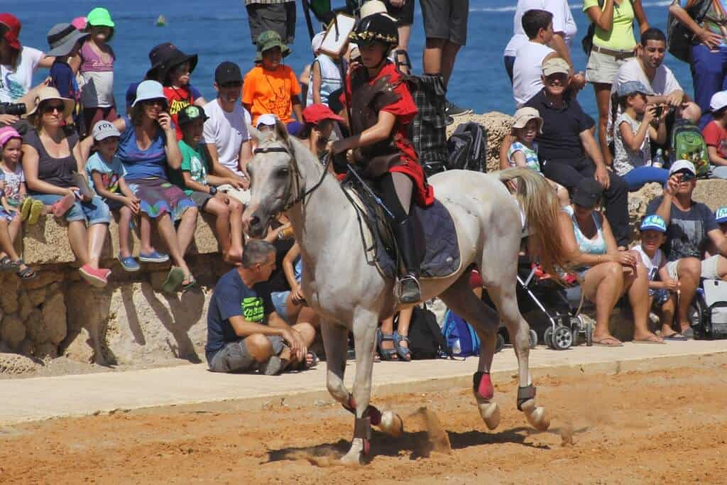 PikiWiki_Israel_45113_Old_Caesarea-Roman_style_horse_show_of_the_Roman_